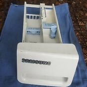 Samsung Front Load Washer Detergent Tray Dc64 01113a White Free Shipping