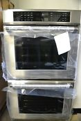 Thermador 30 Stainless Steel Convection Double Electric Wall Oven Med302jp
