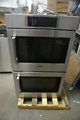 Bosch 30 Stainless Steel Double Electric Convection Wall Oven Hblp651ruc