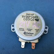 Microwave Oven 21vac 3rpm Turntable Turn Table Synchronous Motor Sm16f 35
