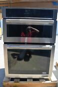 Jenn Air 30 Stainless Steel Microwave Combo Electric Wall Oven Jmw3430dp