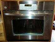 Ge Stainless Steel 30 Self Cleaning Wall Oven