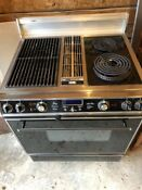 Jenn Air 30 Slide In Downdraft Electric Range S160 Grill Griddle Canning