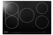 Dacor Discovery Dytt305nb 30 Inch Electric Induction Cooktop 5 Cooking Zones