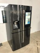 Samsung Family Hub 4 Door French Door Refrigerator Black Stainless Rf28k9580sg