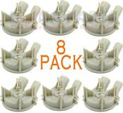 3363394 8 Pack For Whirlpool Kenmore Washer Drain Pump Ps342434 Ap2907492