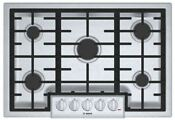 Bosch Ngm8055uc 800 Series 30 5 Burner Gas Cooktop In Stainless Steel