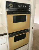 Vintage Ge Double Oven And Matching Cooktop