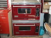 Viking Ovens Dual Burner Convection New Kitchen Appliances Burgundy Natural Gas