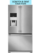 New Scratch Dent Electrolux Icon 21 5cf Counter Depth French Door Refrigerator