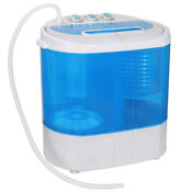 Used 9lb Mini Portable Rv Dorm Compact Washing Machine Spin Dryer Laundry Washer