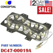Samsung Dryer Heating Element Dc47 00019a Heater Oem Replacement Part