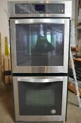 Whirlpool 24 Stainless Steel Double Electric Wall Oven Wod51es4es