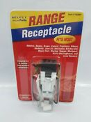 Slelect Parts Electric Range Receptacle Multi Amana Kenmore Maytag