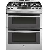 Ge Pgs950sefss 30 Gas Slide In Sealed Burner Double Oven Range New