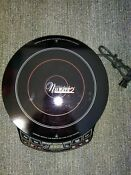 Nuwave 2 Precision Induction Electric Portable Cooktop Model 30151 Works