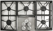Dacor Dtct365gsng Distinctive 36 Inch Gas Cooktop W 5 Sealed Burners Stainless
