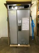 Sub Zero Bi42sdo 42 Inch Built In Side By Side Refrigerator With 24 Cu Ft