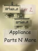 16401816p08 Lot Of 2 Genuine Whirlpool Range Oven Switches Used Parts
