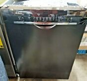 Bosch 24 Built In Black Dishwasher She3ar76uc New With Scratch On Front