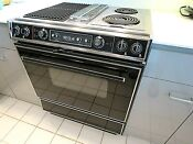 Jenn Air Downdraft Electric Oven Stove Range S125 Clean And Working Well