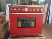 Tecnogas Superiore 36 Gas Range With 6 Burners Rd361gcr C