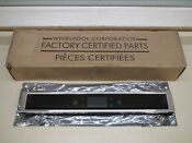 New Oem Whirlpool W11351549 Wall Oven Microwave Combo Control Panel Console