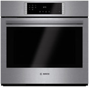 Bosch Hbl8451uc 800 Series 30 Electric Wall Oven In Stainless Steel 12 Modes