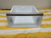 Kitchen Aid Refrigerator Crisper Drawer W10919809 Free Shipping