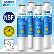 4 Pack Fit For Samsung Da29 00020b Rwf1011 Haf Cin Exp Refrigerator Water Filter