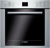 Bosch Hbe5451uc 500 Series 24 Electric Wall Oven In Stainless Steel 2 8 Cu Ft
