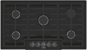 Bosch Ngm8646uc 800 Series 36 Gas Cooktop With Sealed Burners In Black