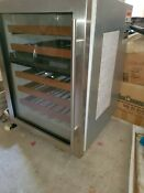 Subzero Wolf 424 Wine Cooler Refrigerator With Built In Alarm Great Deal