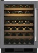 Sub Zero Uw24olh 24 Inch Panel Ready Built In Wine Cooler Stainless