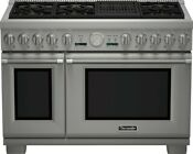 Thermador Prd486nlgu Pro Grand Professional Series 48 Pro Style Dual Fuel Range