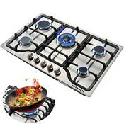 30 5 Burners Built In Stove Top Gas Cooktop Iron Burner Kitchen Gas Cooking