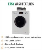 Majestic All In One 13lbs Combo Washer Dryer In White