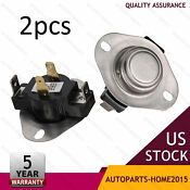 2pcs Dryer Cycling Thermostat Replacement Parts For Whirlpool Kenmore Maytag Us