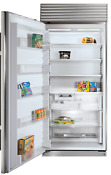 Sub Zero Bi 36f S Ph Lh 36 Built In Full Freezer Stainless Steel Pro Handle