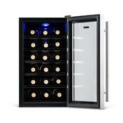 Newair Aw 181e 18 Bottle Thermoelectric Wine Cooler Celler Stainless Steel