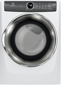 Electrolux 27 In Electric Dryer In White Efme527uiw With Luxcare Dry System
