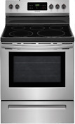 Frigidaire Ffef3054ts 30 Inch Electric Range With Quick Boil In Stainless Steel