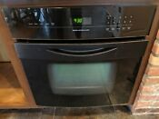 Working Jenn Air 27 Electric Single Built In Wall Oven Jennair Model Jjw8527bab