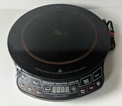 Nuwave Pro Precision Induction Cooktop 1300 Watts Model 30101 Black Cook Top