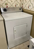 Whirlpool White Electric Dryer Auto Timed Dry Front Load Large Capacity