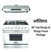 High End New S S 36 Gas Stove 6 Burners Kitchen Gas Range Csa Free Range Hood