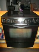 Jenn Air Electric Downdraft Convection Self Cleaning Stove