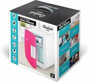 Cooluli Cmf6r Mini Fridge Electric Cooler Warmer 4 Liter 6 Can Pink Usb