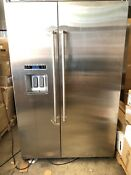 Kitchenaid Kbsd618ess 29 5 Cu Ft Stainless Steel Built In Refrigerator Ss