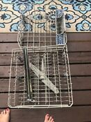 Upper And Lower Dishwasher Racks For Kenmore 8535083 Gray Ice